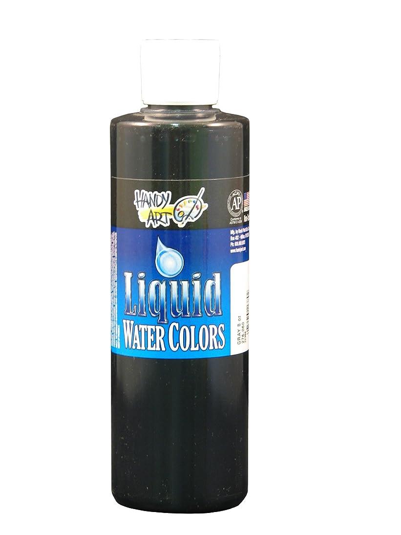 Handy Art Washable Liquid Watercolor 8 ounce, Gray