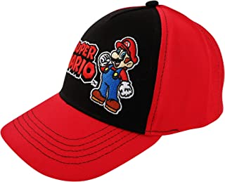 Nintendo Boys Super Mario Character Baseball Cap Baseball Cap