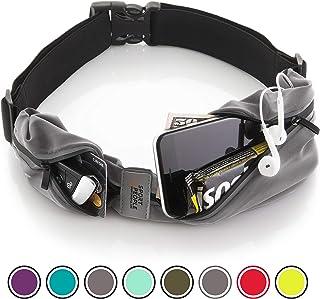 Sport2People 跑步腰带美国 - Fanny Pack 免提锻炼 - iPhone X 6 7 8 Plus Buddy Pouch 跑步者 - Freerunning 反光腰带包 - 健身装备配件