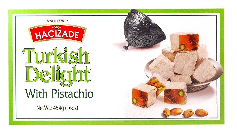 Philadelphia Mall List price Hacizade Turkish Delight With Roasted Pound Pistachios One 1 B