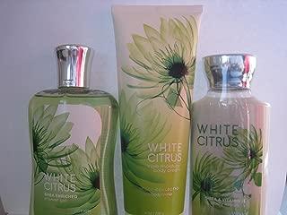 Bath and Body Works White Citrus Gift Set