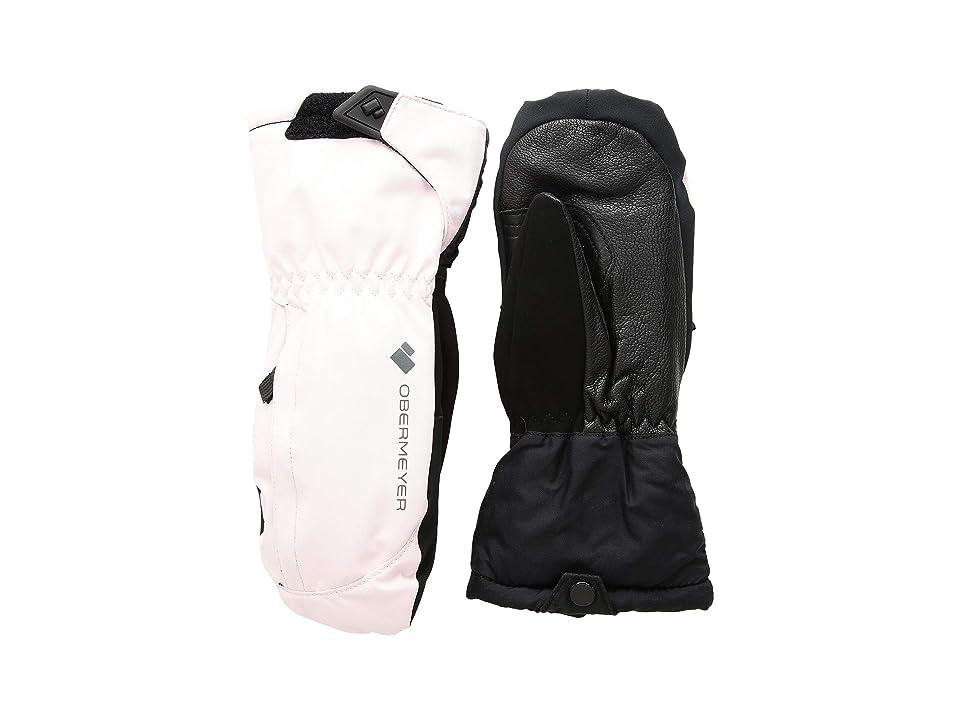 Obermeyer Kids Molten Mitten (Little Kids/Big Kids) (Demi Pink) Extreme Cold Weather Gloves