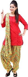 Vastra Vinod Women's Casual Wear Fascinating Cotton Ethnic Set
