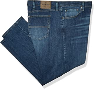 Classic Authentics Men's Relaxed Fit Flex Jean