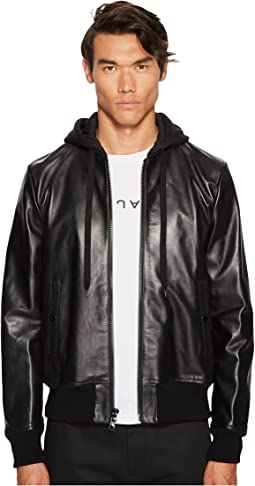 Marc Jacobs - Hooded Leather Jacket