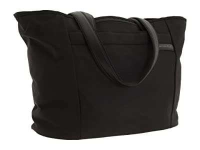 Briggs & Riley Baseline Large Shopping Tote Bag (Black) Tote Handbags