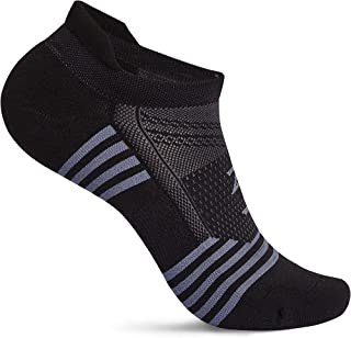 Zeropes Anti Blister No Show Running Socks Women and Men Kids Athletic (1 Pair)