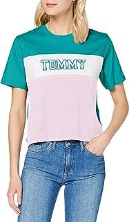 Tommy Hilfiger Tjw Colorblock Stripe Tee Camicia Donna