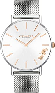 Coach Women'S Silver White Dial Stainless Steel Watch - 14503124