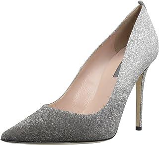 enorme sconto 73118 3f1ab Amazon.it: Argento - Scarpe col tacco / Scarpe da donna ...