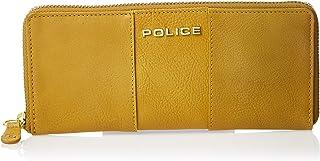 Police Aura Mens Wallet, Card Case & Money Organizer, Honey