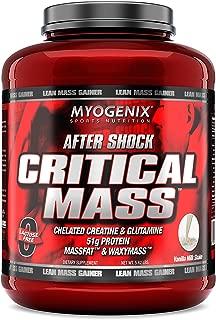 Myogenix Aftershock Critical Mass Vanilla Milk Shake, 5.62 Pounds