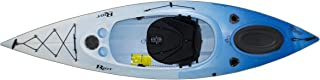 Riot Kayaks Quest 10 HV Flatwater Day Touring Kayak (White/Blue, 10-Feet)