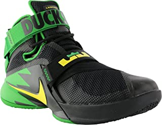 low priced 6cadd 06c3e Nike Men s Zoom Soldier 9 IX PRM Lebron Oregon Ducks Black Green 749490-073  (