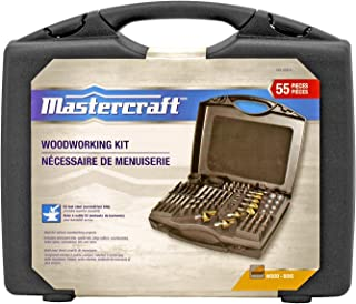 55pc Mastercraft Woodworking Kit