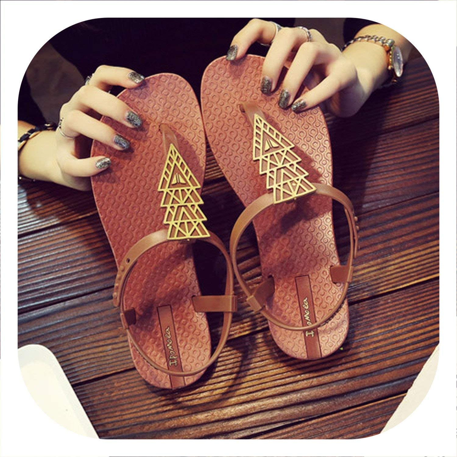 Sensitives 2019 New Summer Women Sandals Suede PU Leather Square Low Heel Buckle Peep Toe shoes
