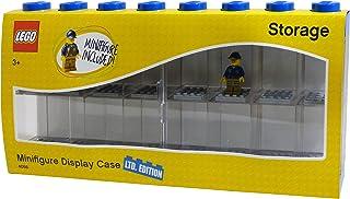 LEGO ミニフィギュアディスプレイケース L ブルー