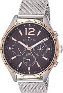 Tommy Hilfiger Womens Quartz Watch, Analog Display and Stainless Steel Strap 1791466