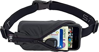 SPIbelt Running Belt Large Pocket, No-Bounce Waist Pack for Runners, Sport Pouch iPhone 6 7 8-Plus X Athletes