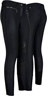 EURO STAR Indra POWERGRIP Breeches Ladies Black Horse Rug