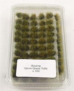Campo de batalla de 10mm pantano autoadhesivo hierba Tufts - Warhammer modelo de miniaturas
