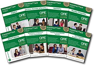 Manhattan Prep GRE Strategy Guides (Instructional Guide/Strategy Guide)