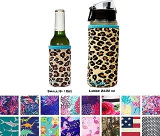 Koverz Insulators - 6 Sizes & 40+ Styles - Beer Can/Bottle | Coffee/Beer Pint Sleeve | 16oz. Mason Jar | 16-18oz (500ml)| 24-30oz (750ml)| 32-40oz (1000ml)| Insulated Neoprene Water Bottle Sleeve