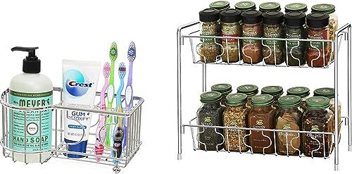 popular Simple Houseware Multi-Functional 6 Slots Toothbrush Holder sale + online SimpleHouseware 2-Tier Kitchen/Bathroom Countertop Organizer online