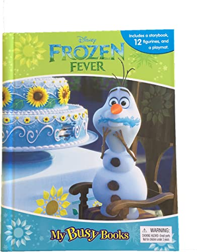 Disney Frozen Fever My Busy Book With Figurines and Playmat by Disney