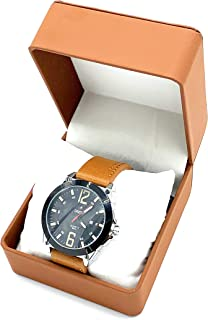 SANEESI Casual Watch For Men Analog Leather - MNW202014