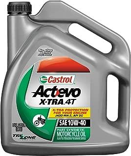 Castrol 20W50 Actevo X-tra 4T Motorcycle Oil - 1 Gallon 3168