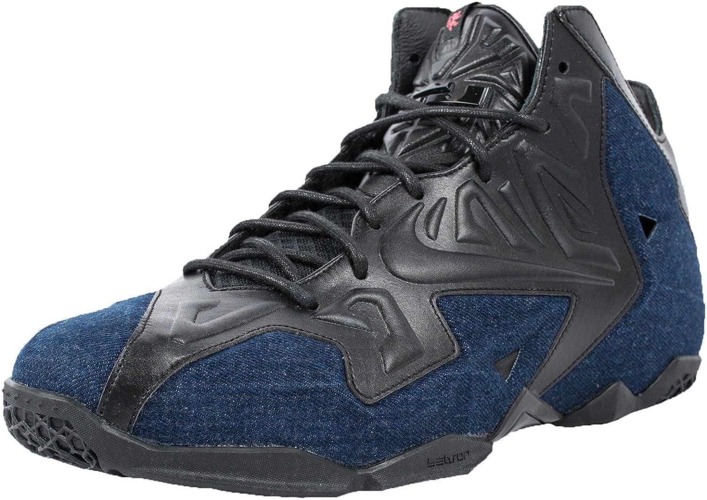 Nike Lebron XI 11 EXT QS Denim schwarzes Herren Basketballschuhe B00JMCLSZS Attraktive Mode
