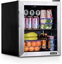 NewAir NBC060SS00 Beverage Cooler and Refrigerator, Stainless Steel, 60 Can