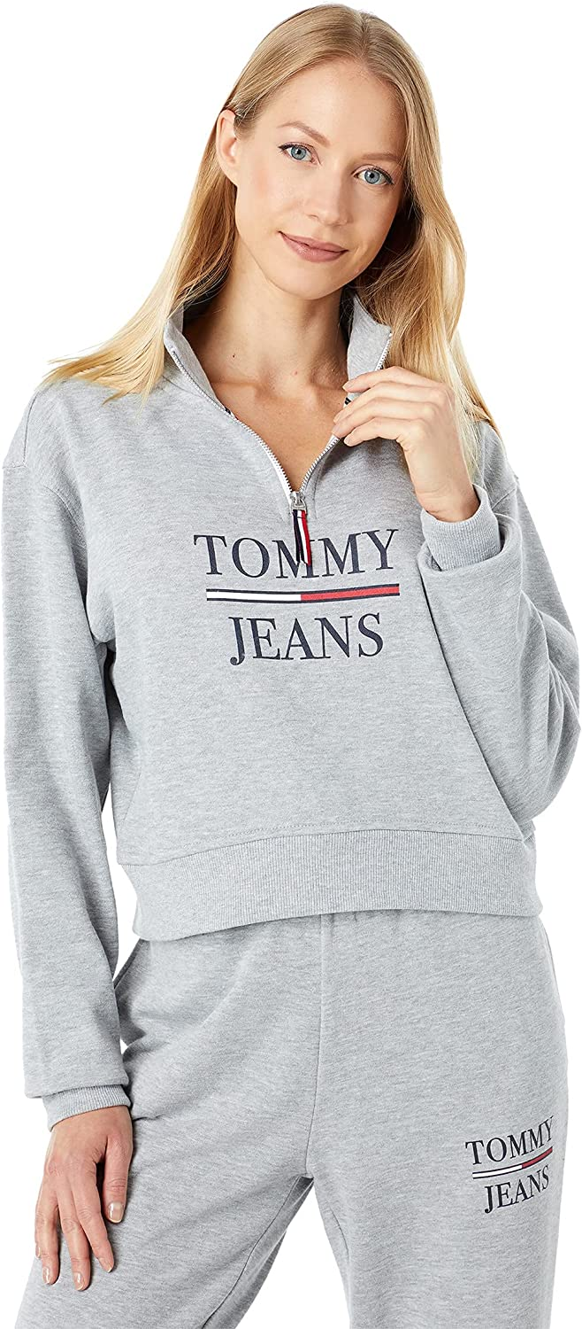 Tommy Jeans 1/2 Zip Crop Pullover