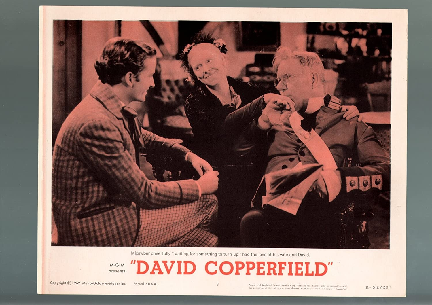 MOVIE POSTER: DAVID COPPERFIELD-1962-LOBBY CARD-FN C VF-DRAMA-W Mail Don't miss the campaign order
