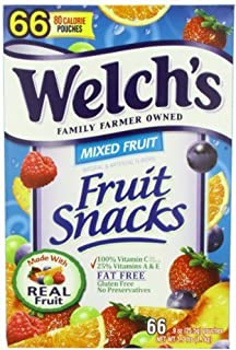 Welch's Mixed Fruit Snacks, 66 ct. (pack of 6)