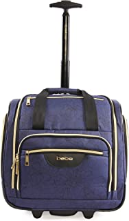 BEBE Women's Valentina-Wheeled Under The Seat Carry-on Bag