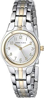 Anne Klein Women's 105491SVTT Two-Tone Dress Watch