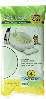 Tidy Cat BREEZE Cat Refill Pads 16.9 x 11.4 - (4 packs - 4ct)