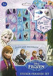 Set cuaderno y pegatinas. Frozen