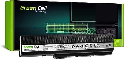 Green Cell Standard Serie A32-K52 Laptop Akku f r ASUS A52F A52J A52N B53 K42 K52 K52DR K52J K52JK K62 X52 X52D X52F X62 6 Zellen 4400mAh 10 8V Schwarz Schätzpreis : 29,25 €