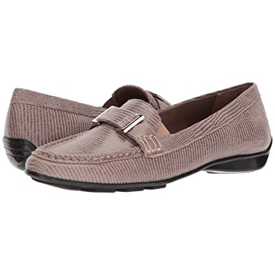 Walking Cradles March (Taupe Patent Lizard Leather) Women