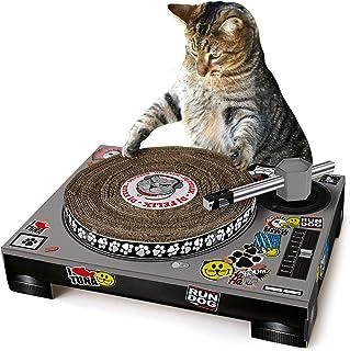 SUCK UK - CAT Toys | PET Cardboard Turntable & DJ Mixer |