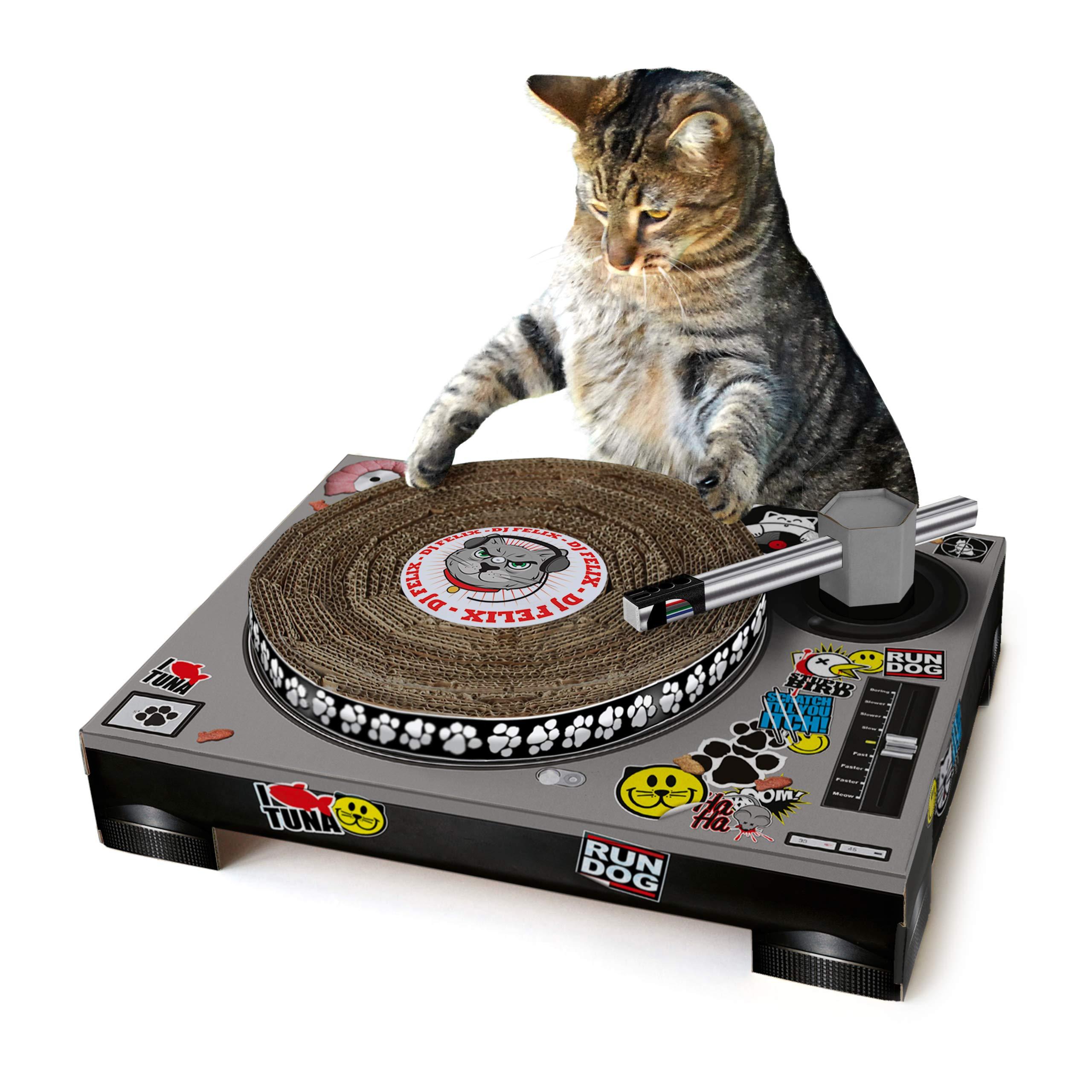 SUCK UK SK CATDECK1 Rascador Tocadiscos para Gatos, Multicolour: Amazon.es: Productos para mascotas