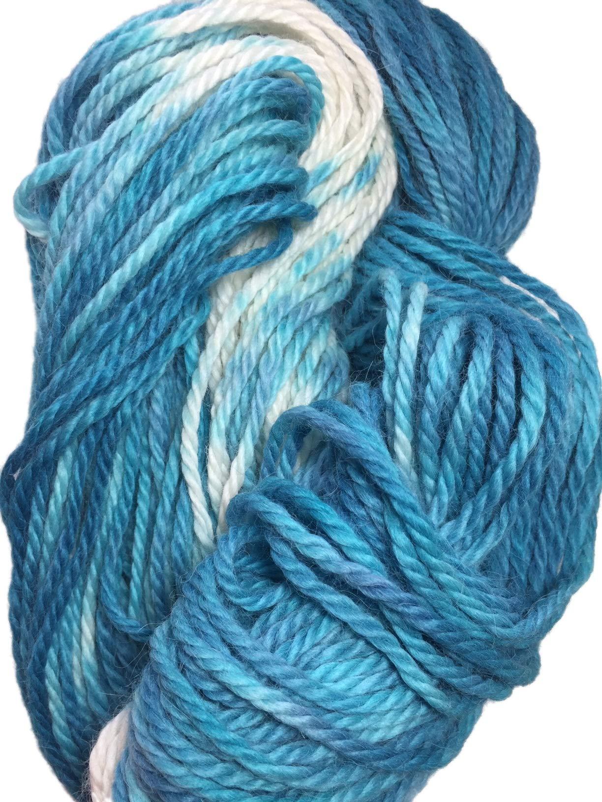 Hand Painted 100/% Alpaca Yarn