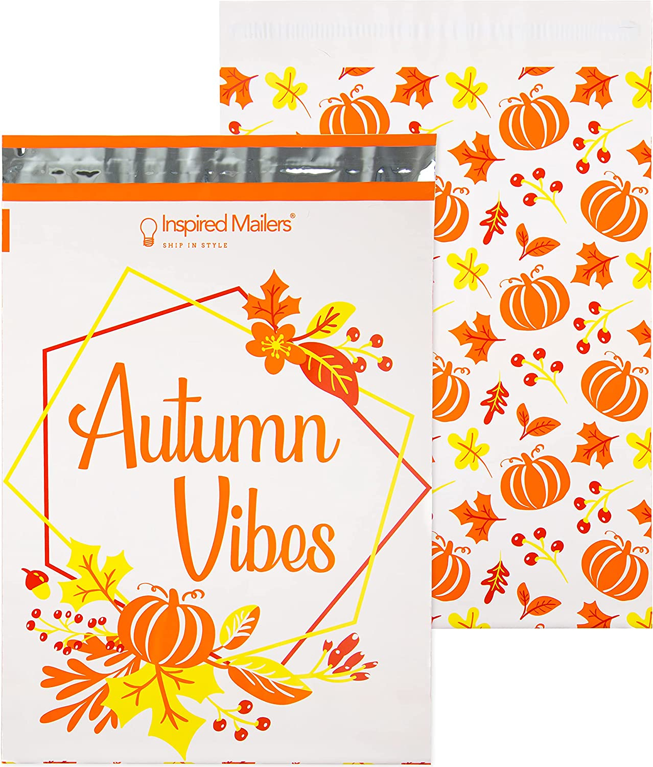 OFFicial mail order Inspired Mailers - Poly Vibes Philadelphia Mall Pack Autumn 10x13-100