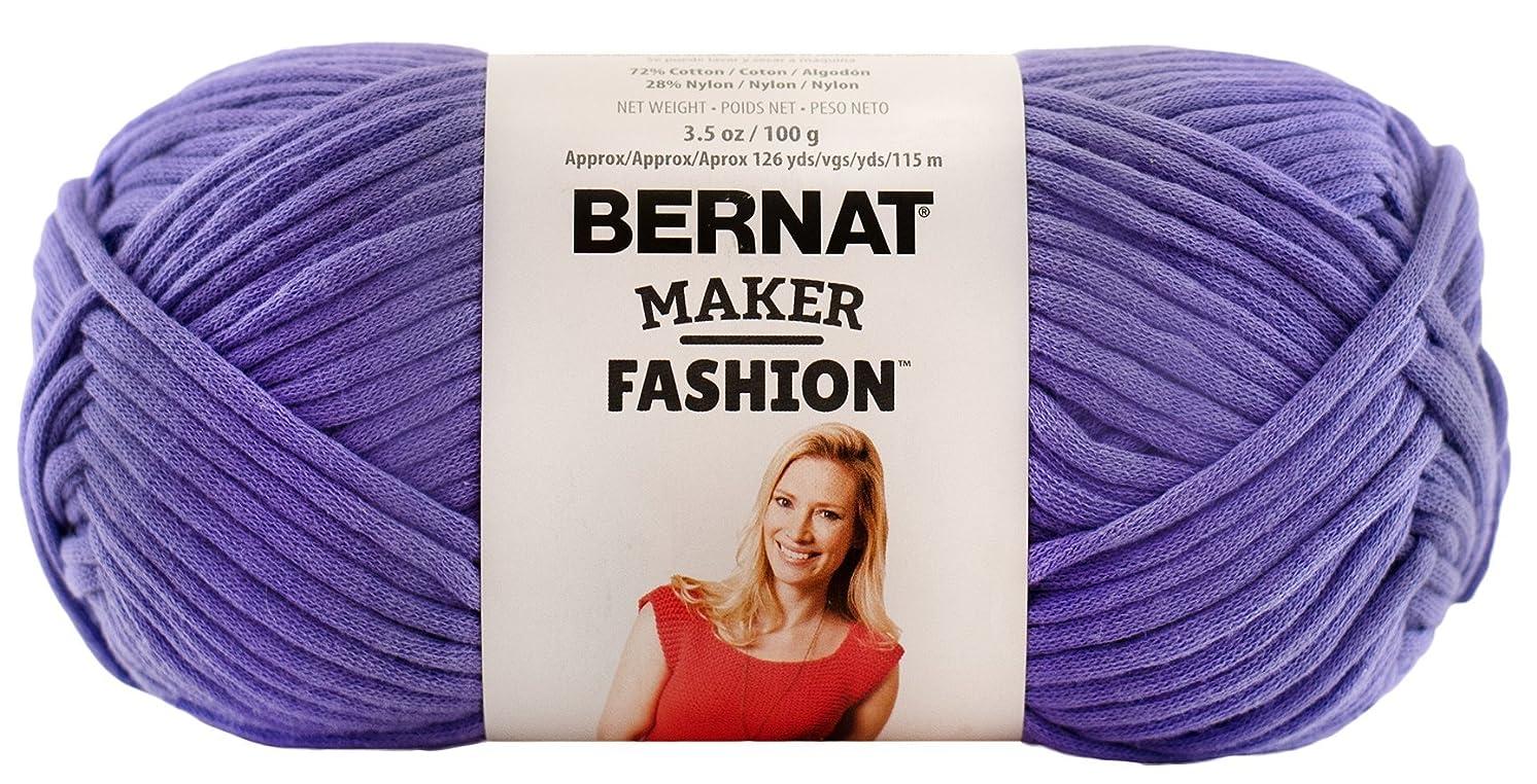 Bernat Maker Fashion Yarn (5) Bulky Gauge  - 3.5oz -  Purple  -  Machine Wash & Dry For Crochet, Knitting & Crafting