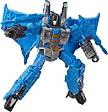 Transformers Toys Generations War for Cybertron Voyager Wfc-S39 Thundercracker Action Figure - Siege Chapter - Adults & Kids Ages 8 & Up, 7