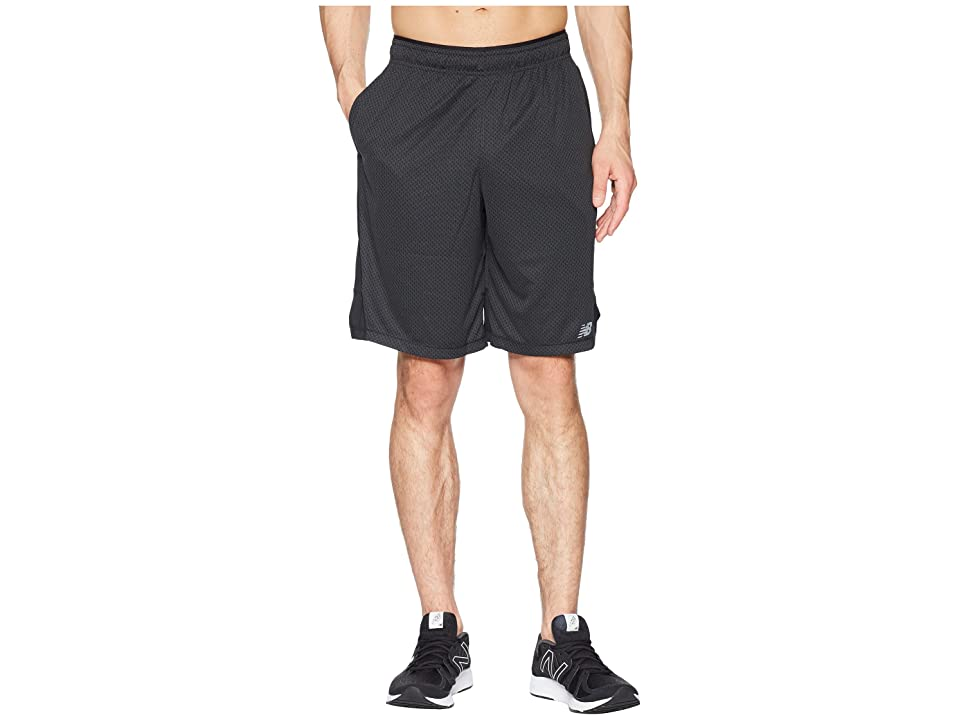 New Balance Tenacity Knit Shorts (Black) Men
