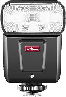 Metz M360 - Flash para Canon (ISO 100 y 105 mm, Zoom motorizado de 24 a 105 mm, difusor Gran Angular de 14 mm) Negro